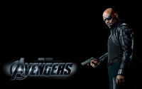 Nick Fury - The Avengers wallpaper 2560x1600 jpg