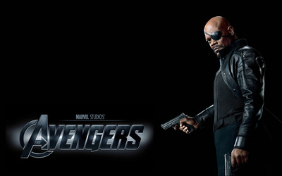Nick Fury - The Avengers wallpaper