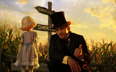 Oz and China Girl - Oz the Great and Powerful wallpaper