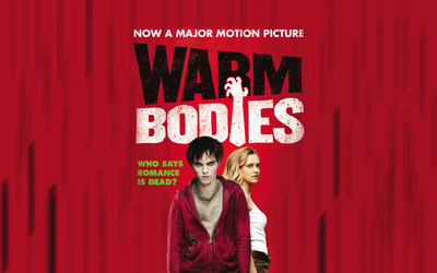 R and Julie - Warm Bodies wallpaper
