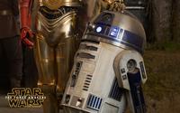 R2-D2 in Star Wars: The Force Awakens wallpaper 2880x1800 jpg