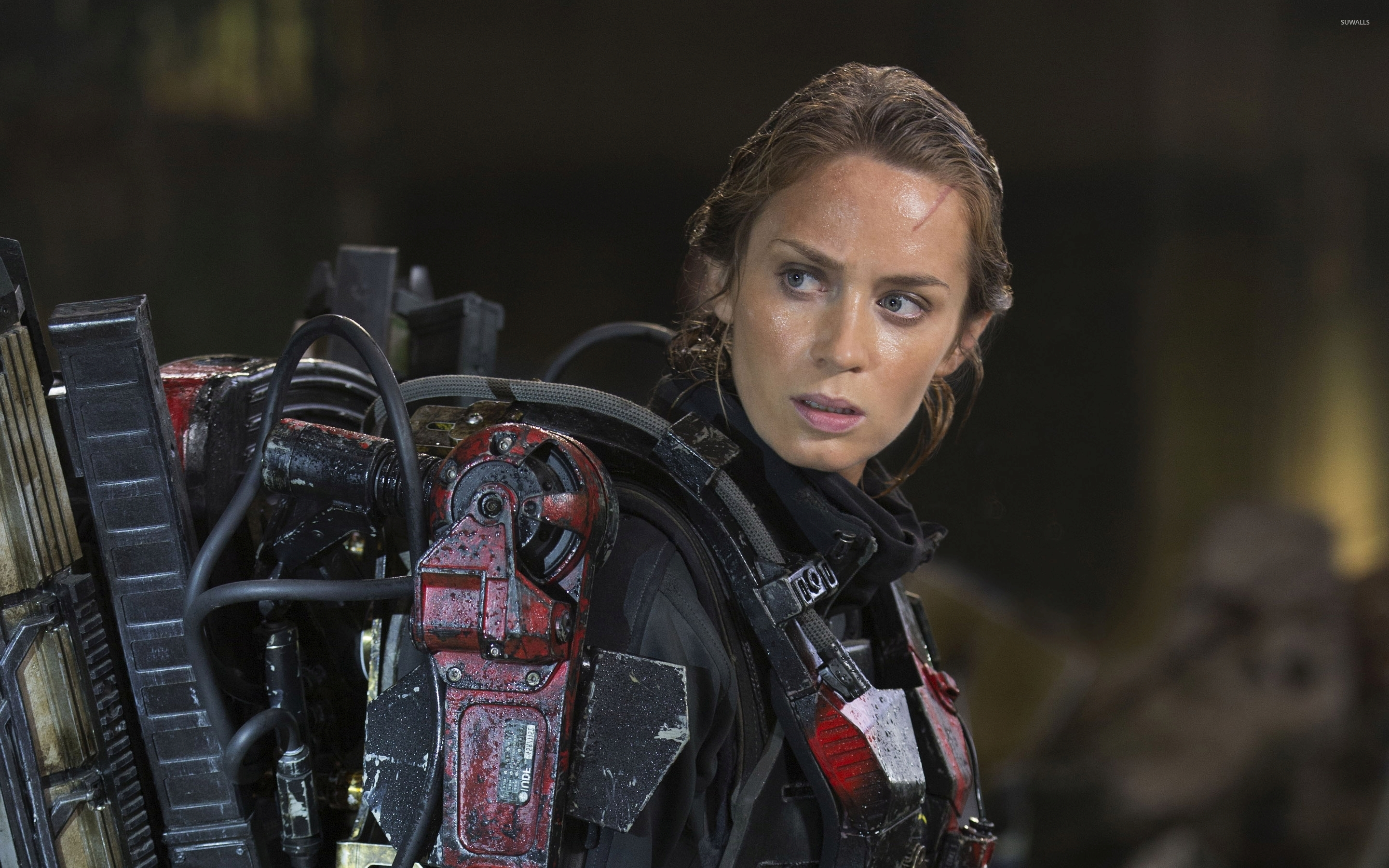 Rita Edge Of Tomorrow 5 Wallpaper Movie Wallpapers 36591