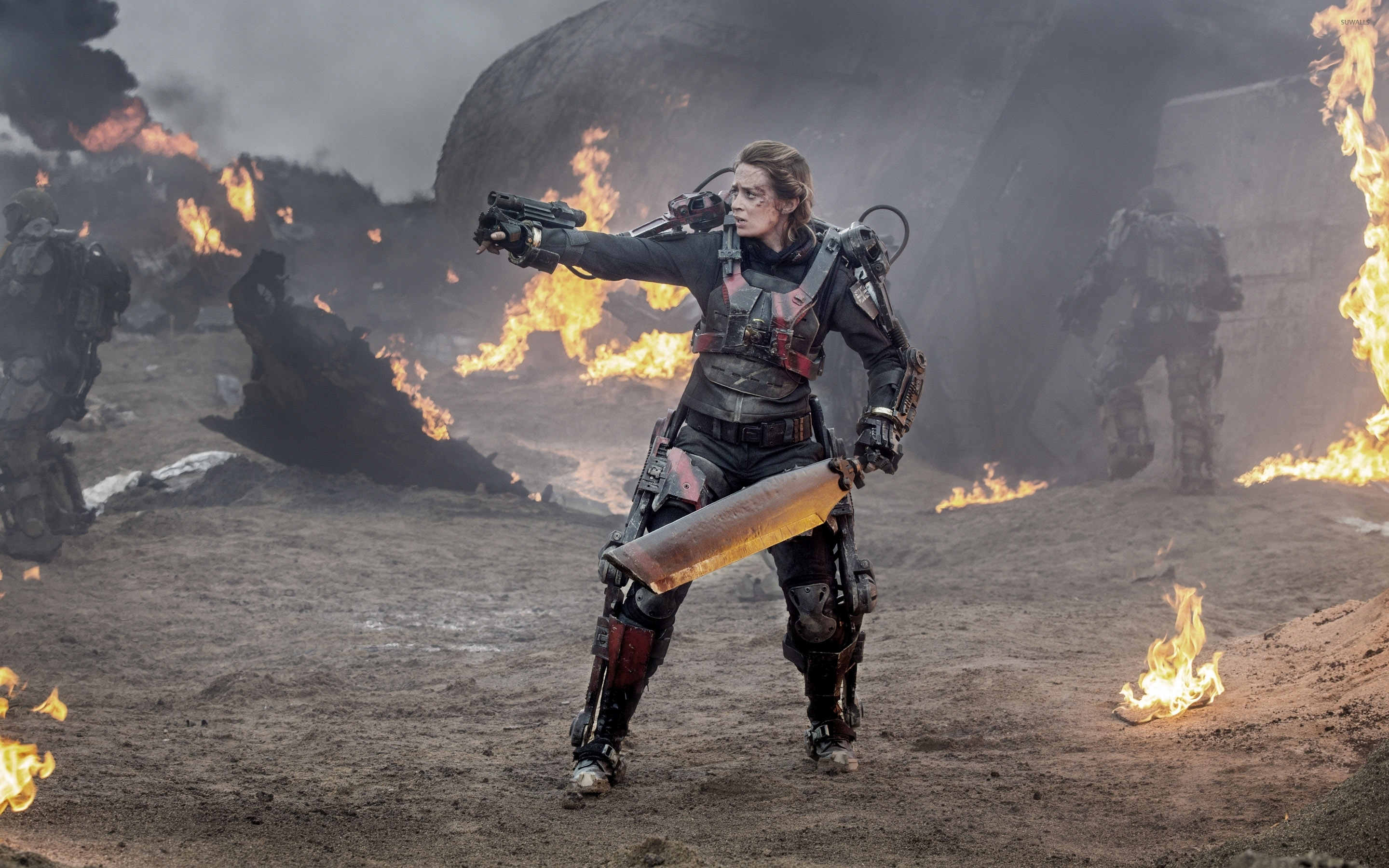 Rita Edge Of Tomorrow 2 Wallpaper Movie Wallpapers 36719
