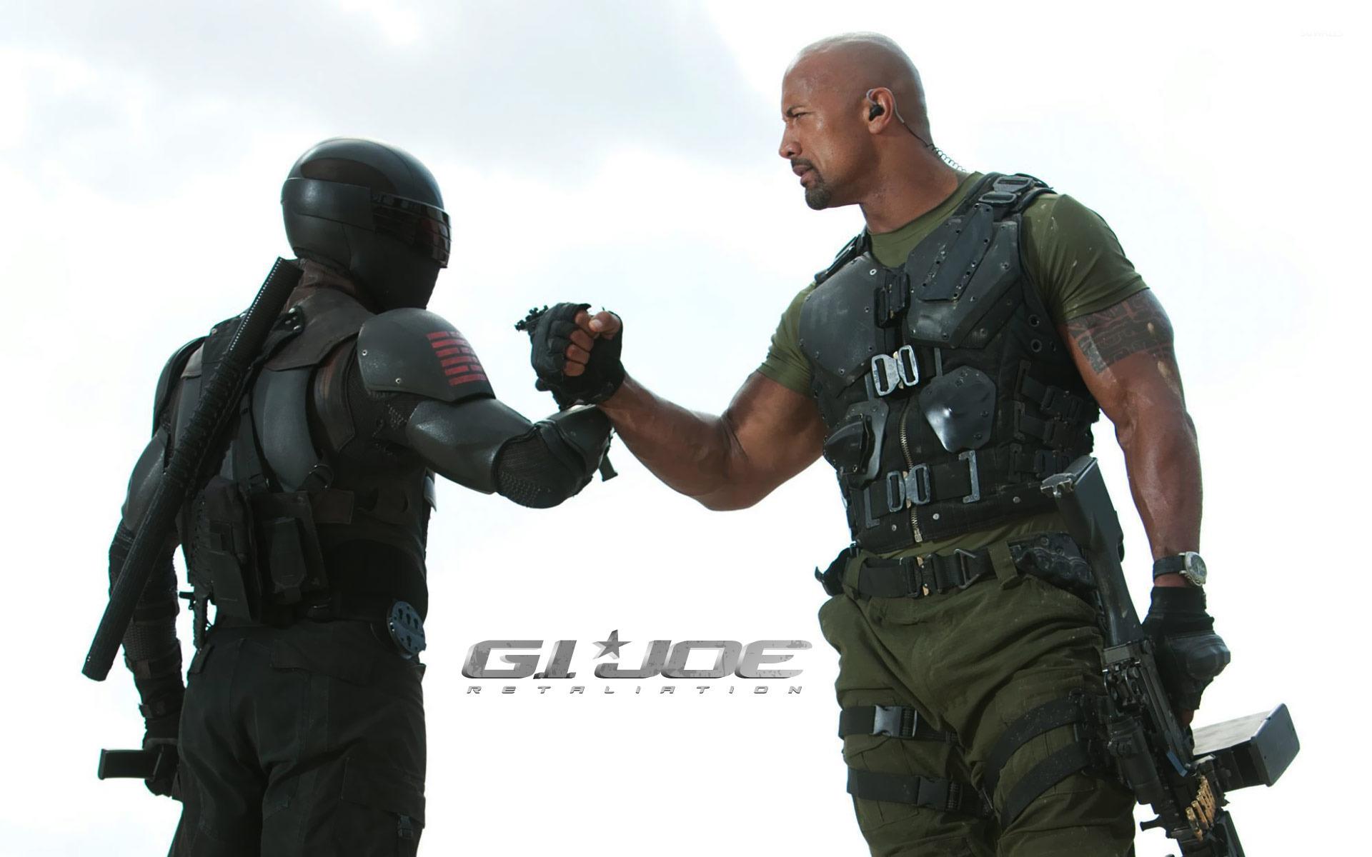 roadblock and snake eyes - g.i. joe: retaliation wallpaper - movie