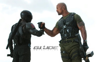 Roadblock and Snake Eyes - G.I. Joe: Retaliation wallpaper 1920x1200 jpg