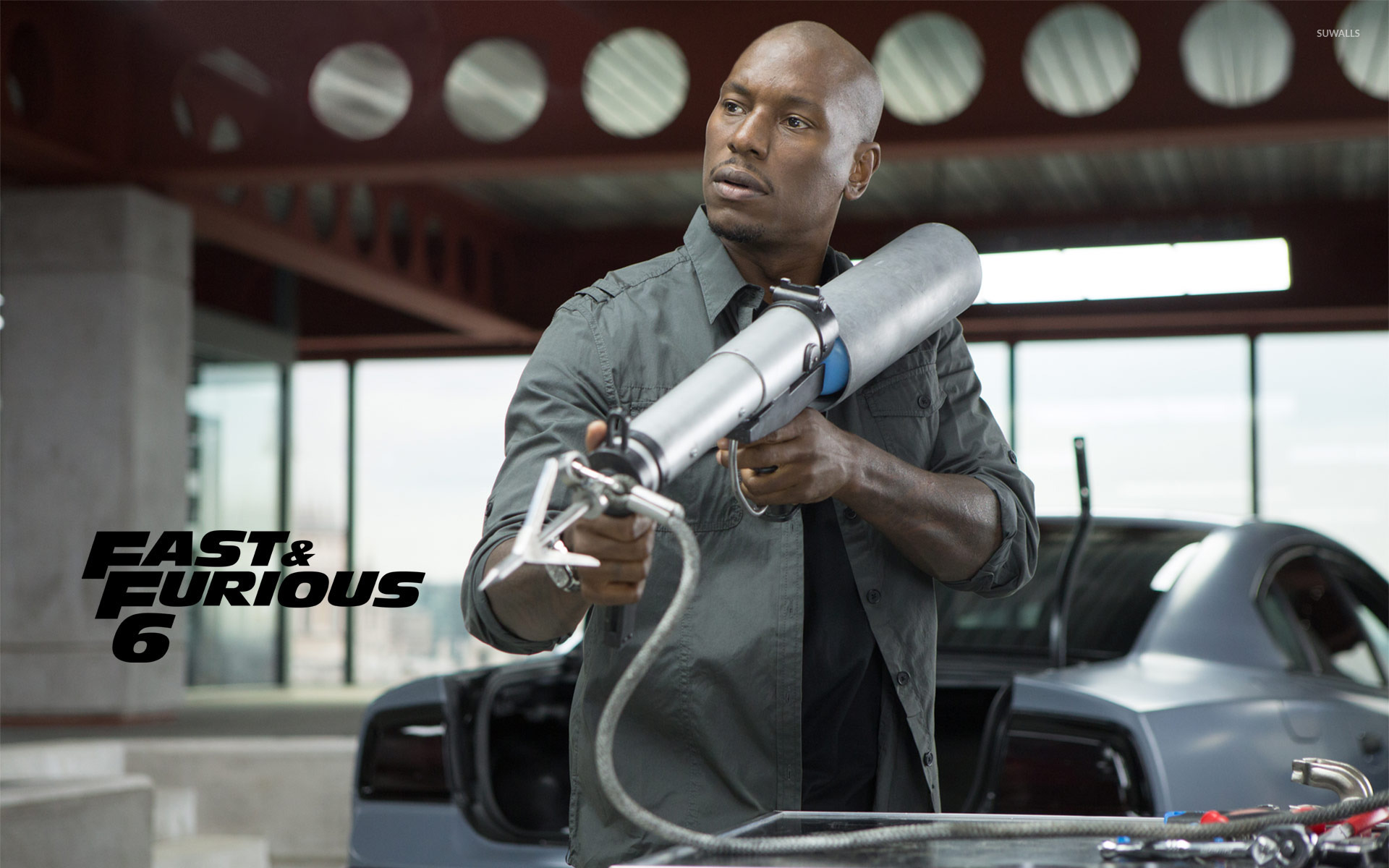 Roman Pearce - Fast & Furious 6 wallpaper - Movie ...