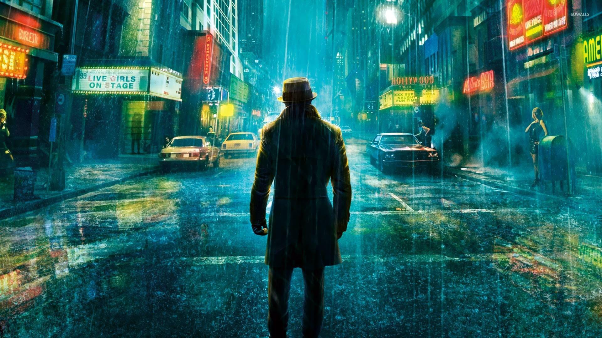 Rorschach - Watchmen wallpaper
