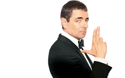 Rowan Atkinson as Johnny English wallpaper