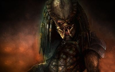 Scary Predator wallpaper