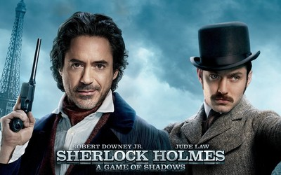 Sherlock Holmes: A Game of Shadows wallpaper