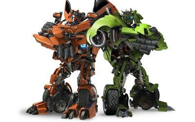 Skids and Mudflap - Transformers wallpaper