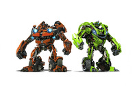 Skids & Mudflap - Transformers wallpaper 2560x1600 jpg