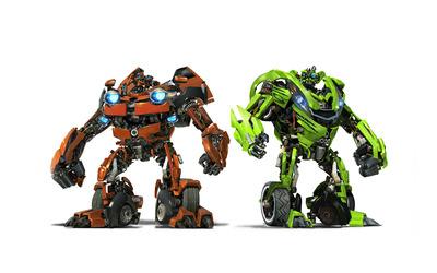 Skids & Mudflap - Transformers wallpaper
