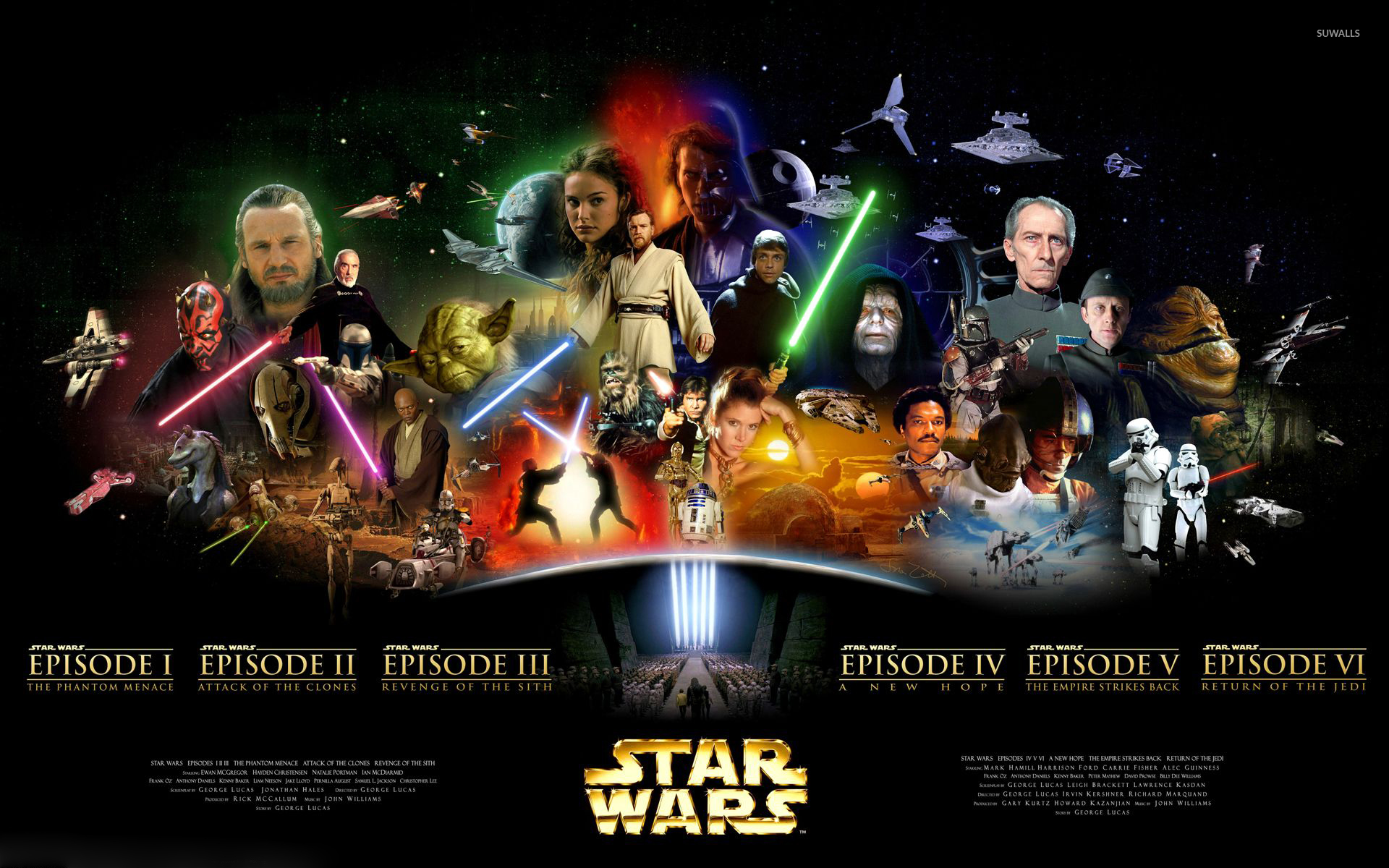 Star Wars Series Wallpaper Movie Wallpapers 52563