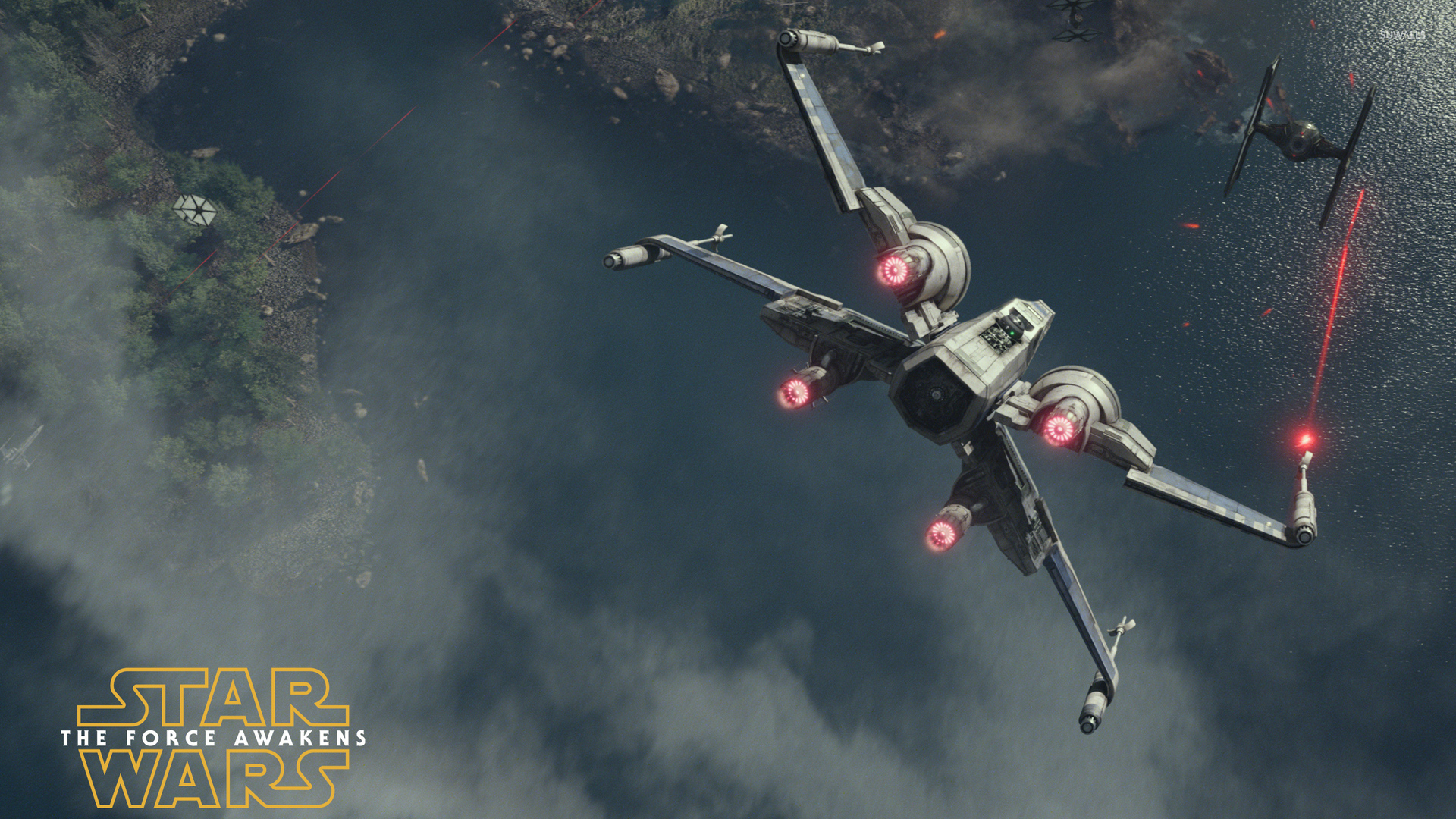 T-65 X-wing starfighter - Star Wars: The Force Awakens ...
