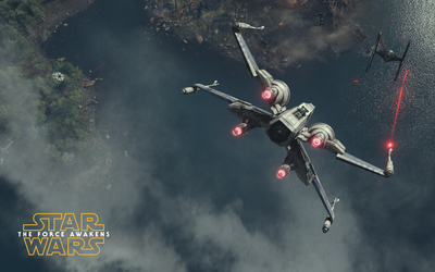 T-65 X-wing starfighter - Star Wars: The Force Awakens wallpaper