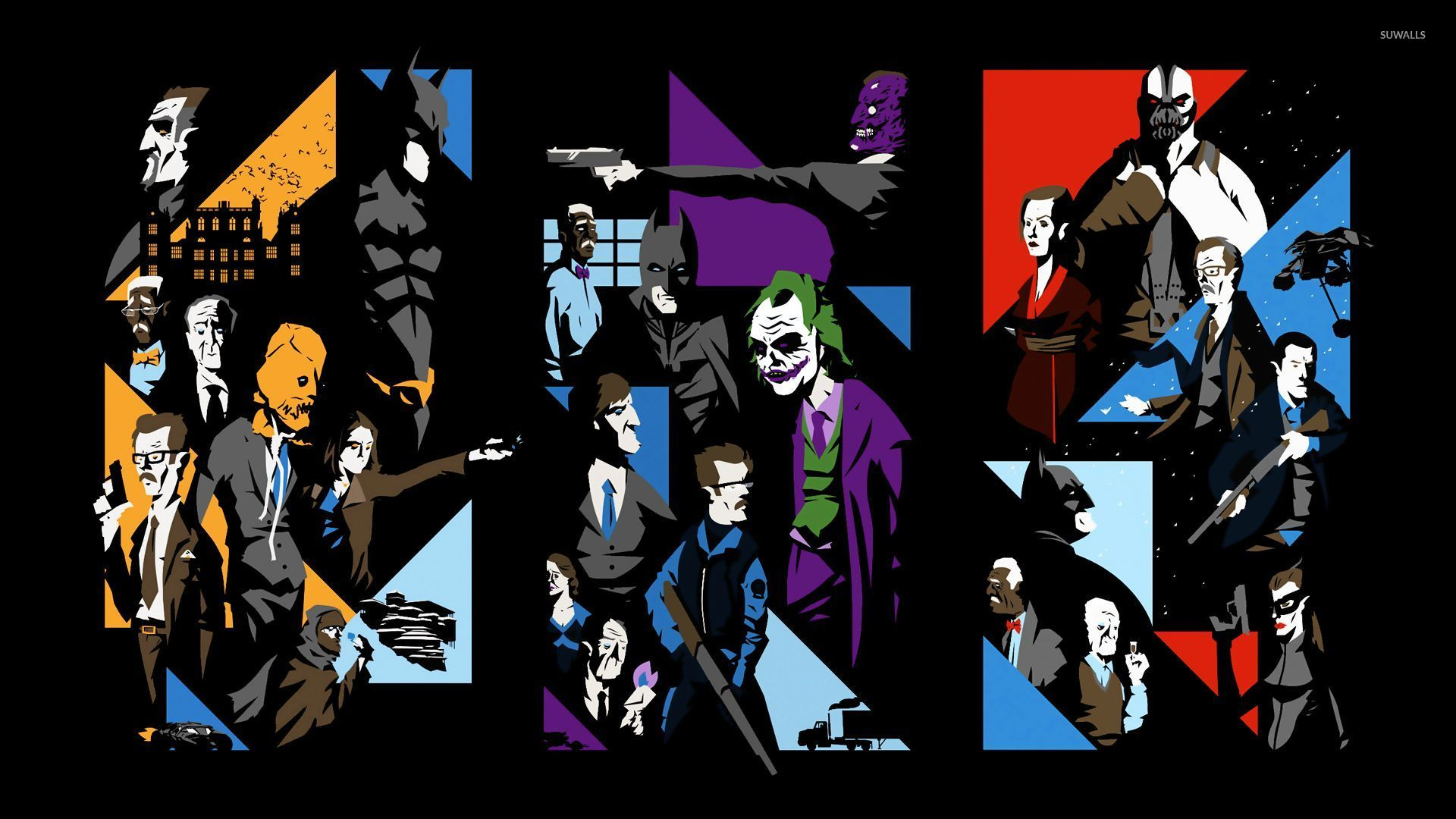 The Dark Knight Trilogy Wallpaper Movie Wallpapers 24477