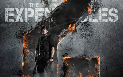 Barney Ross - The Expendables 2 wallpaper