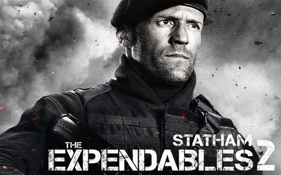 Lee Christmas - The Expendables 2 wallpaper