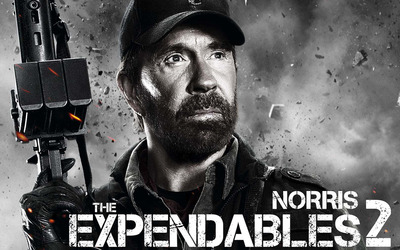 Booker - The Expendables 2 wallpaper