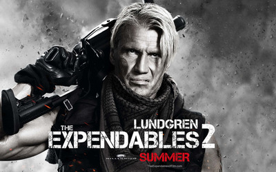 Gunnar Jensen - The Expendables 2 wallpaper