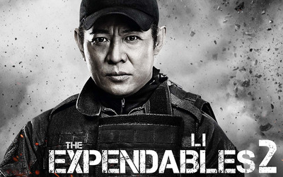 Yin Yang - The Expendables 2 wallpaper