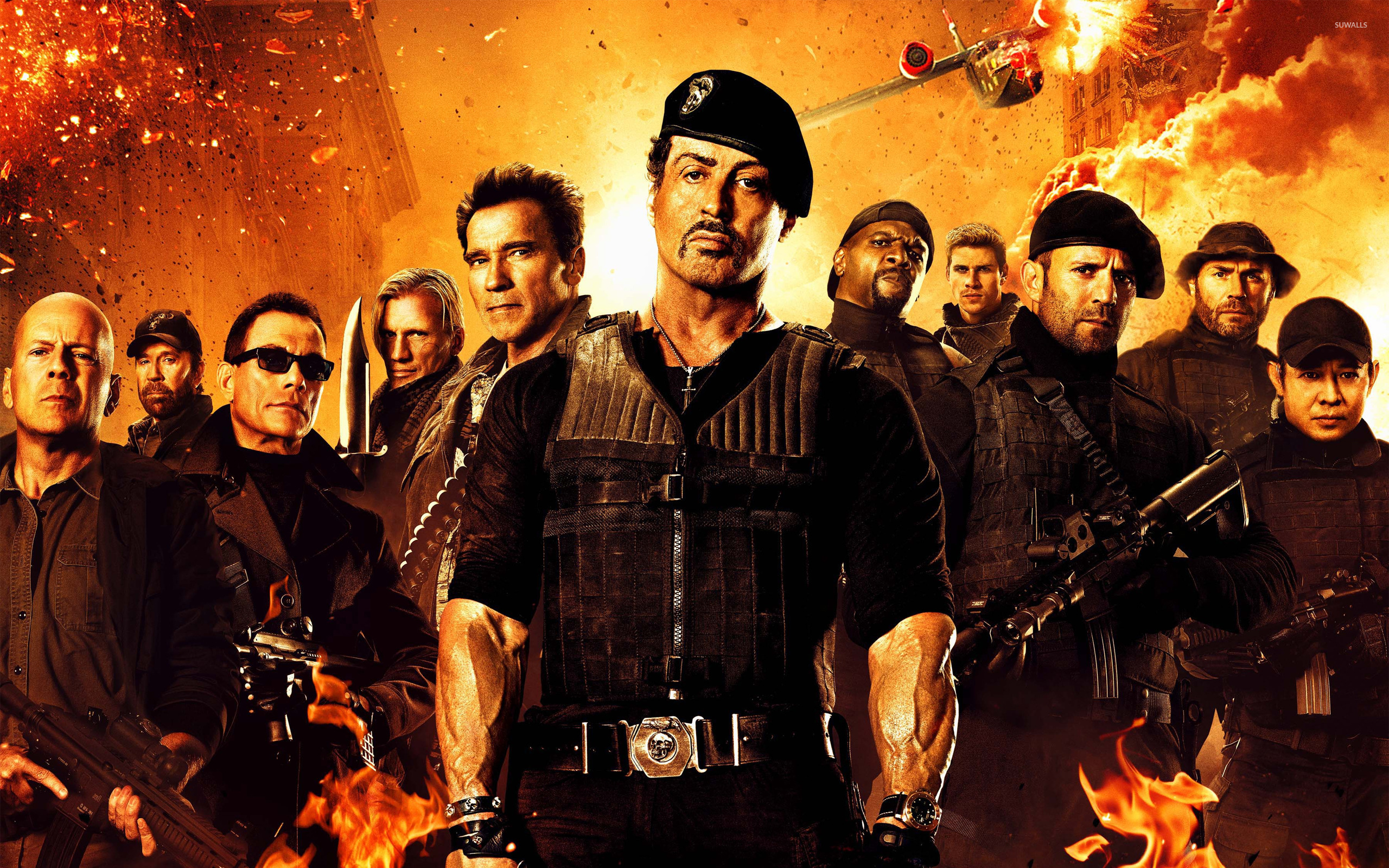 the expendables 2 [3] wallpaper - movie wallpapers - #13563