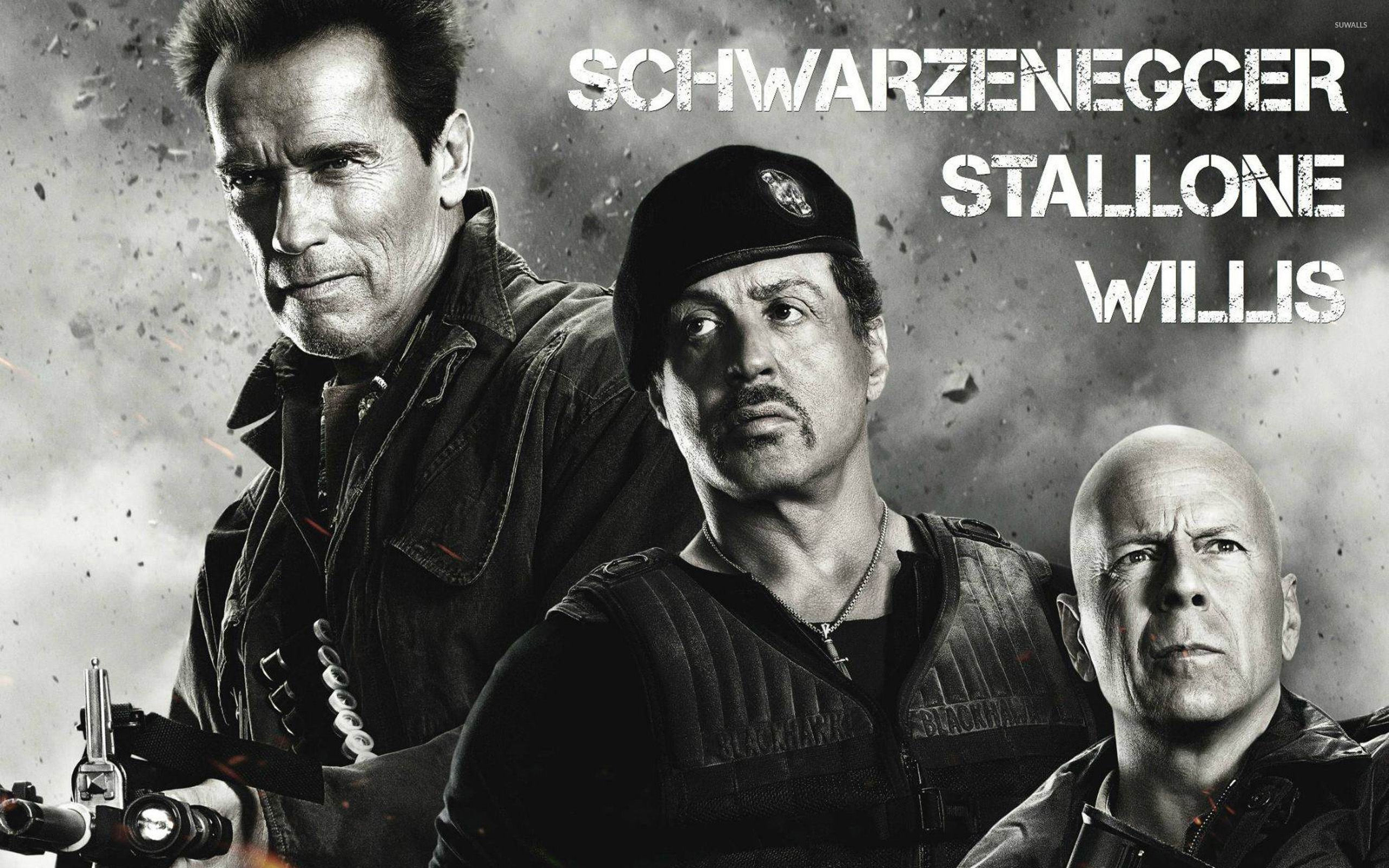 the expendables 2 [6] wallpaper - movie wallpapers - #13564