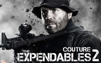 Toll Road - The Expendables 2 wallpaper