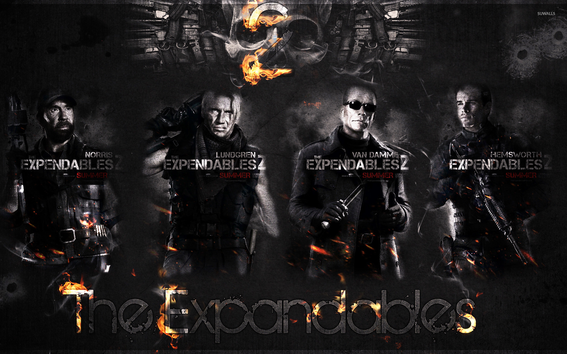 The Expendables 2 [4] wallpaper - Movie wallpapers - #13792