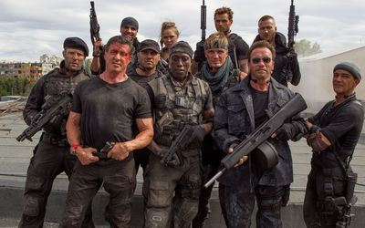 The Expendables 3 main characters wallpaper