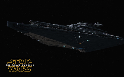 The Finalizer - Star Wars: The Force Awakens wallpaper