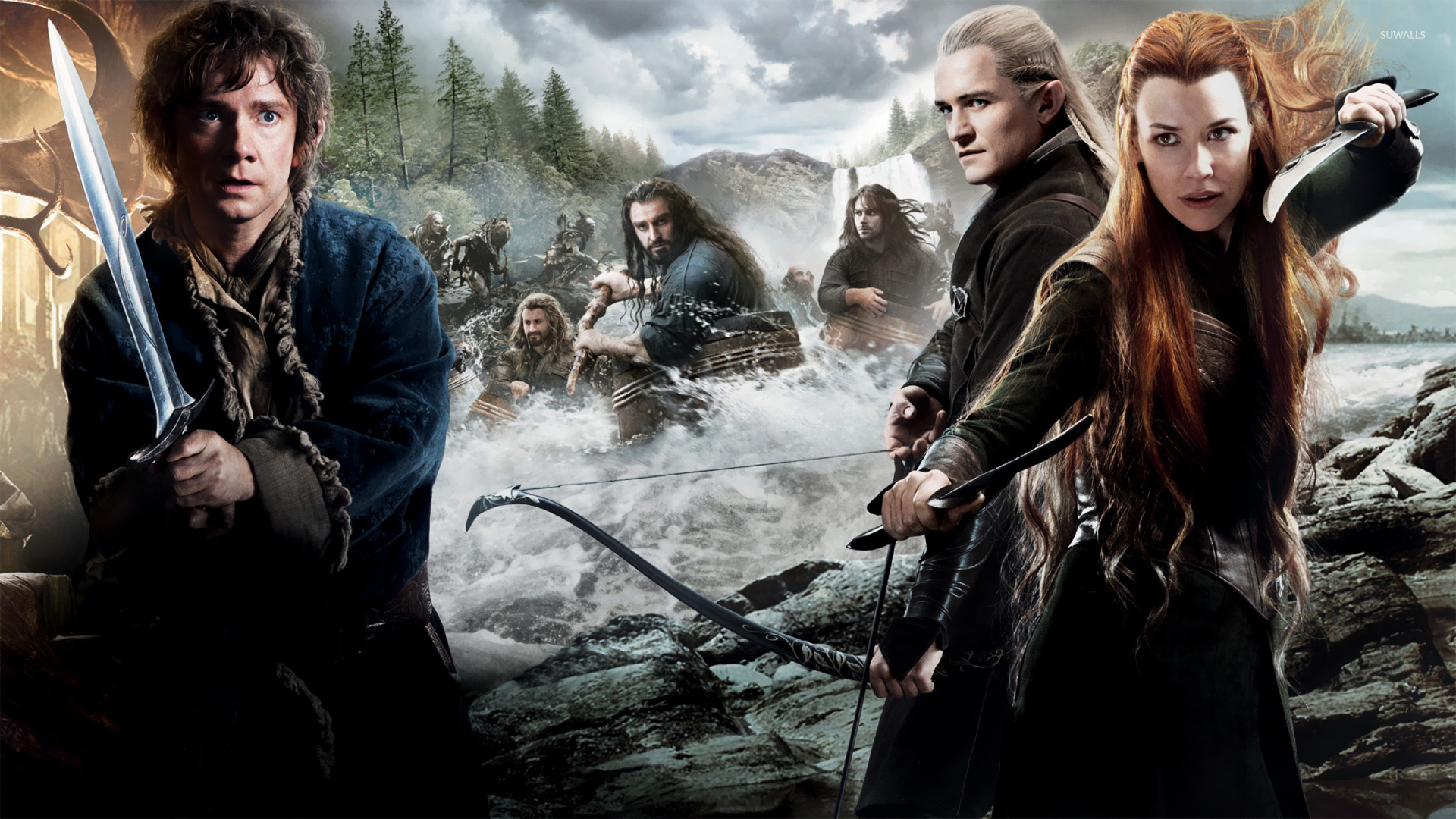 The Hobbit: The Desolation of Smaug [4] wallpaper - Movie
