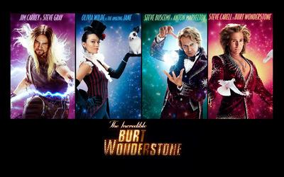 The Incredible Burt Wonderstone wallpaper