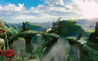 The magical world of Oz - Oz the Great and Powerful wallpaper 2560x1600 jpg