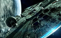 The Millenium Falcon wallpaper 1920x1080 jpg