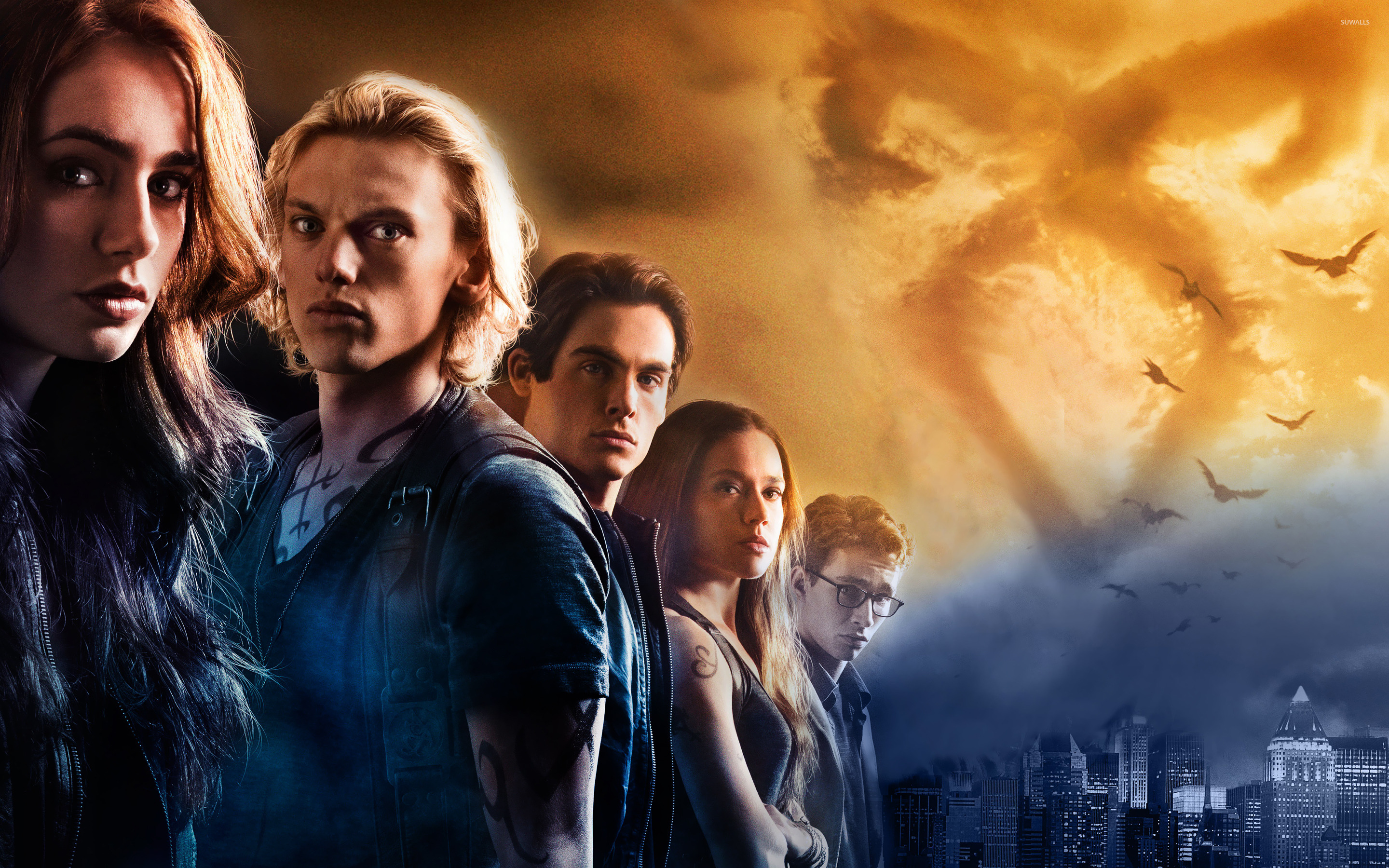 the mortal instruments: city of bones wallpaper - movie wallpapers