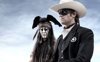 Tonto and John Reid - The Lone Ranger [2] wallpaper 1920x1080 jpg