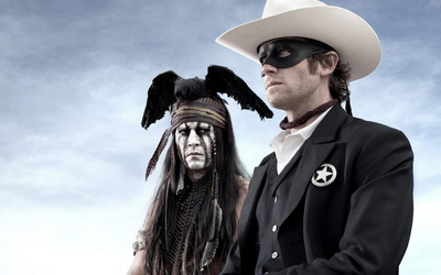 Tonto and John Reid - The Lone Ranger [2] wallpaper