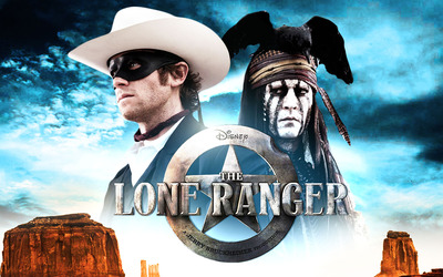 Tonto and John Reid - The Lone Ranger wallpaper