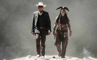 Tonto and The Lone Ranger wallpaper