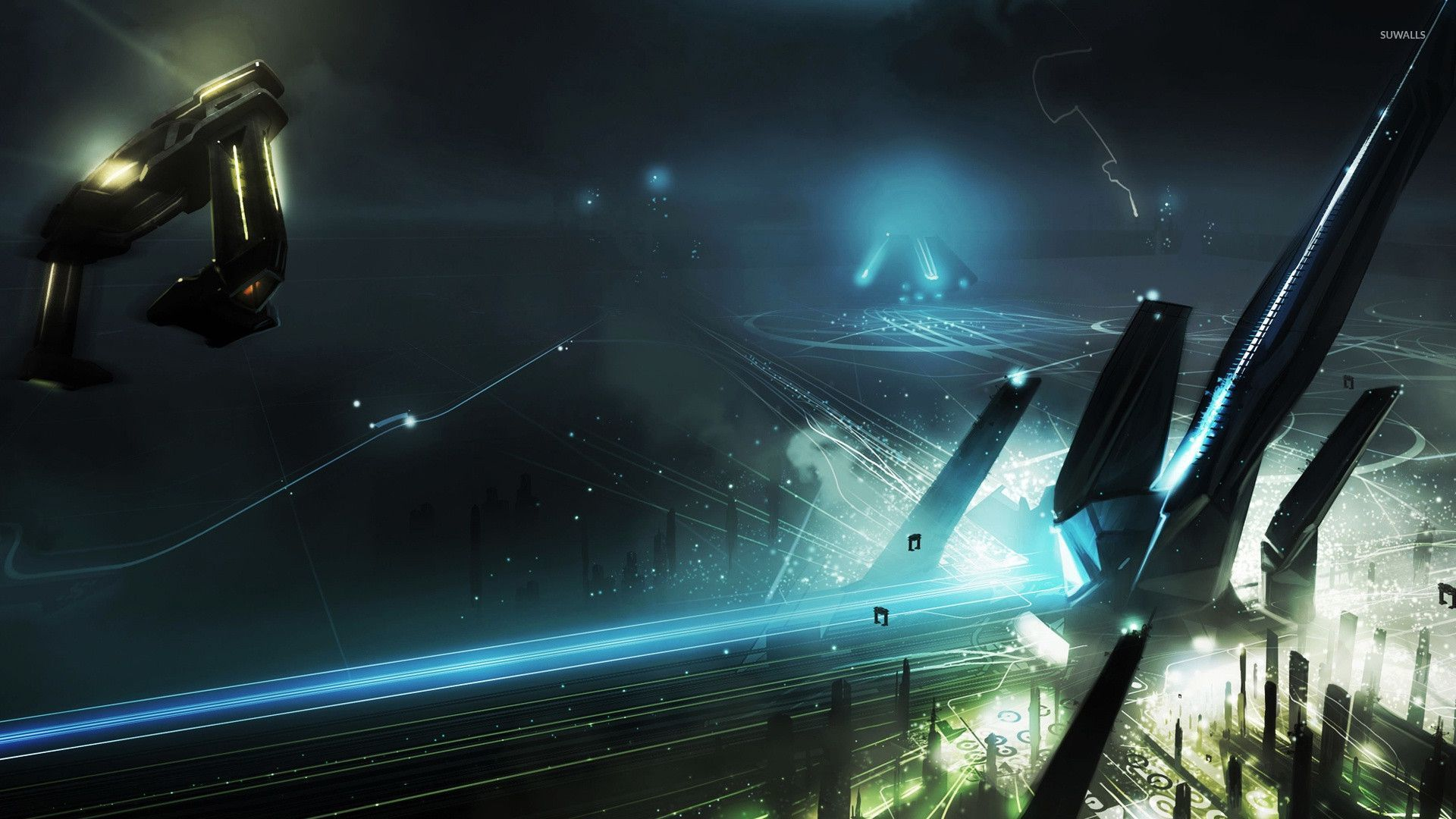 tron legacy [4] wallpaper - movie wallpapers - #29310
