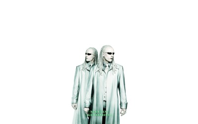 Twins - Matrix Reloaded wallpaper