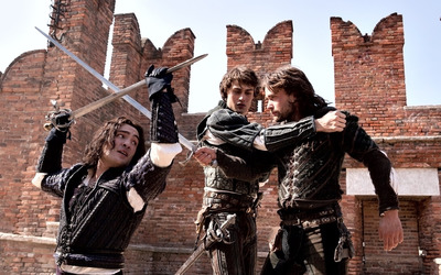 Tybalt, Romeo and Mercutio -  Romeo and Juliet wallpaper