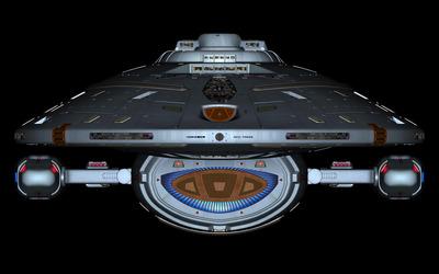 USS Voyager - Star Trek wallpaper