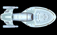 USS Voyager - Star Trek [6] wallpaper 1920x1200 jpg