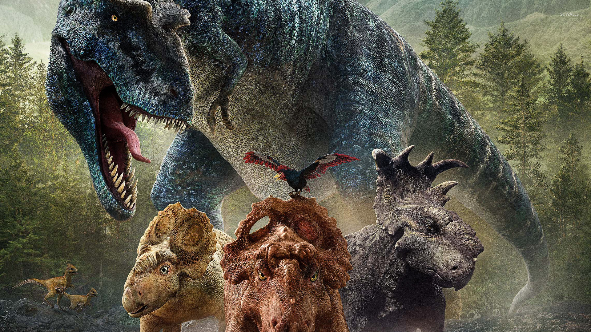 walking with dinosaurs 3d wallpaper movie wallpapers