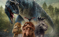 Walking with Dinosaurs 3D wallpaper 1920x1200 jpg