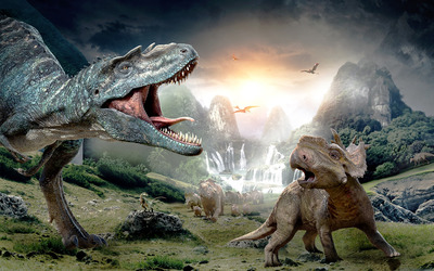 Walking with Dinosaurs 3D [2] wallpaper