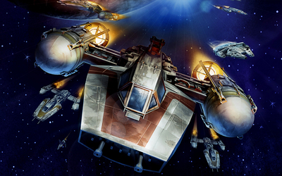 Y-wing - Star Wars wallpaper